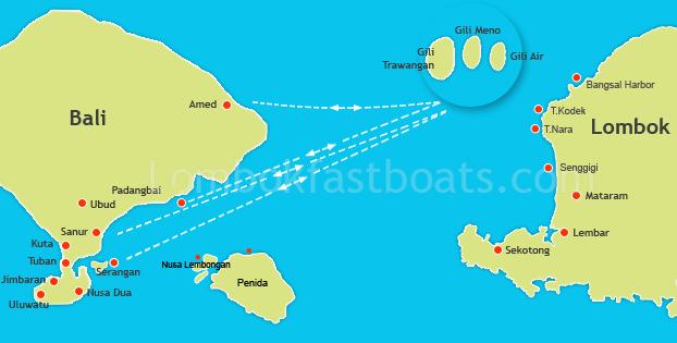 Bali To Gili Island Fast Boat From Bali To Lombok Bali