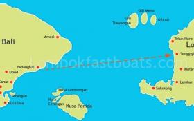 Marina Srikandi 8 departs from Padangbai to Senggigi (Lombok)