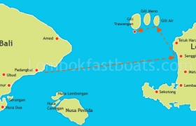 Wahana Gili Ocean Padangbai to Trawangan