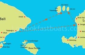 Wahana Gili Ocean Trawangan to padangbai