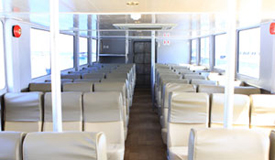Lombok Express Boat Seats