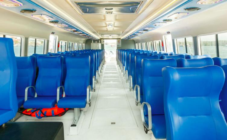 Bluewater Passenger Seat